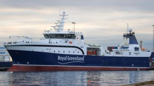 Royal Greenlands nyeste rejetrawler »Avatarq«