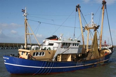 UK 176 –  Verwachting – ©FiskerForum - Foto: Barend-from-Harlingen
