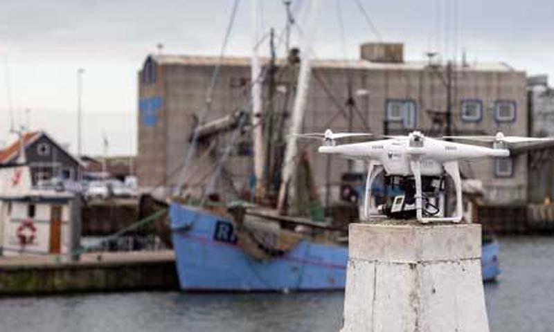 Moderne drone-teknologi skal hjælpe danske fiskere