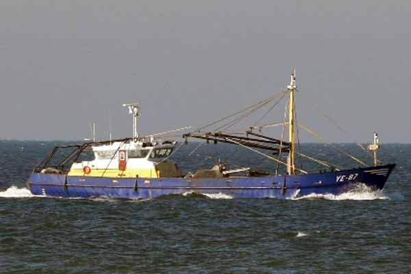 YE 87 –  DANIEL PIETER – ©FiskerForum - Foto: HD191