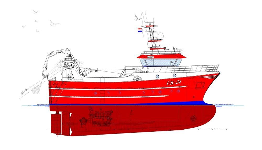 »Hoekman shipyard« i Urk bygger twinrigger til hollandsk reder