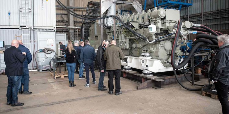 VMS Group indvier ny testhal