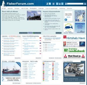 Ny FiskerForum layout